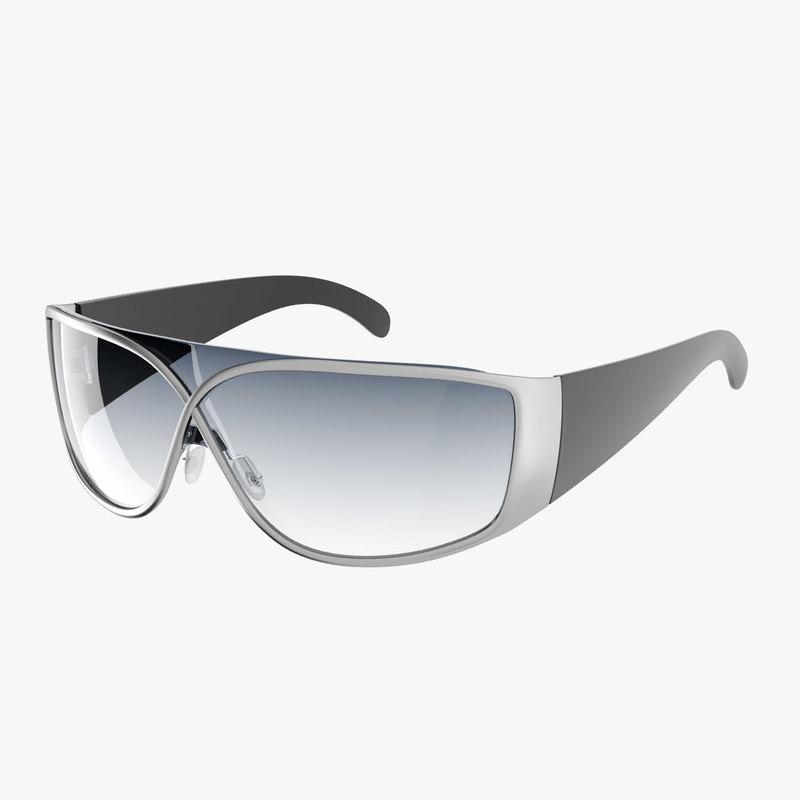 3d model realistic sunglasses