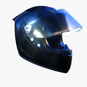 3d motorcycle helmet airoh model