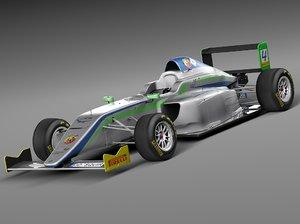 2014 formula 4 3d c4d