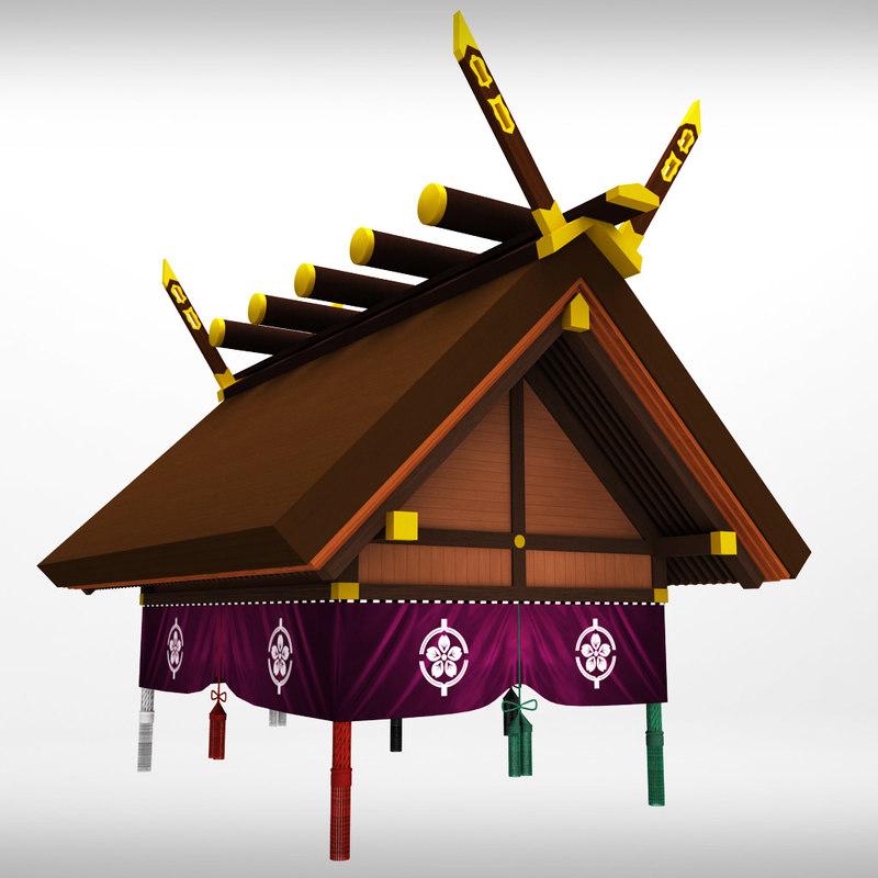3dsmax sumo roof