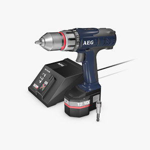 3d model aeg screwdriver
