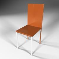 3d 3ds design chair
