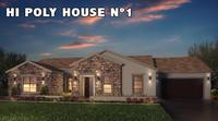 3d model hi house