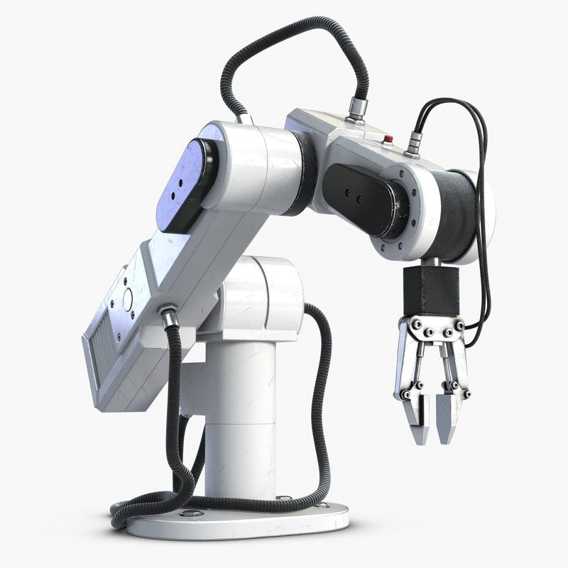 laboratory robot manipulator 3d model