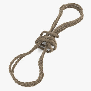 rope rig 3d model