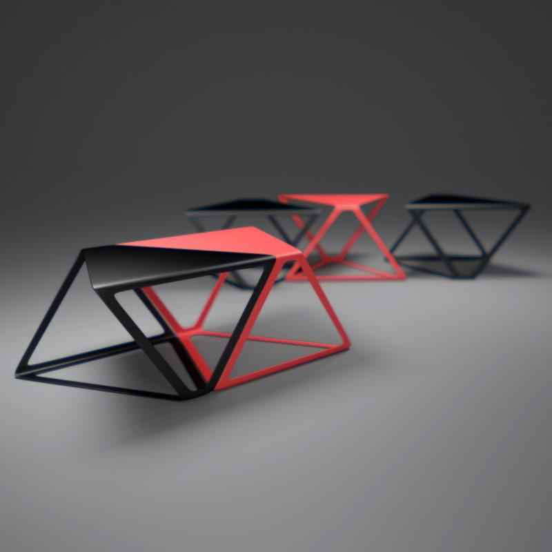 3d x-plus-table model