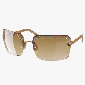 realistic designer sunglasses 3d max