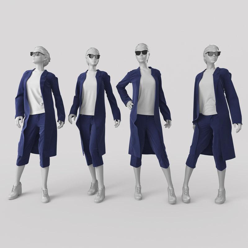 3ds max mannequin 3