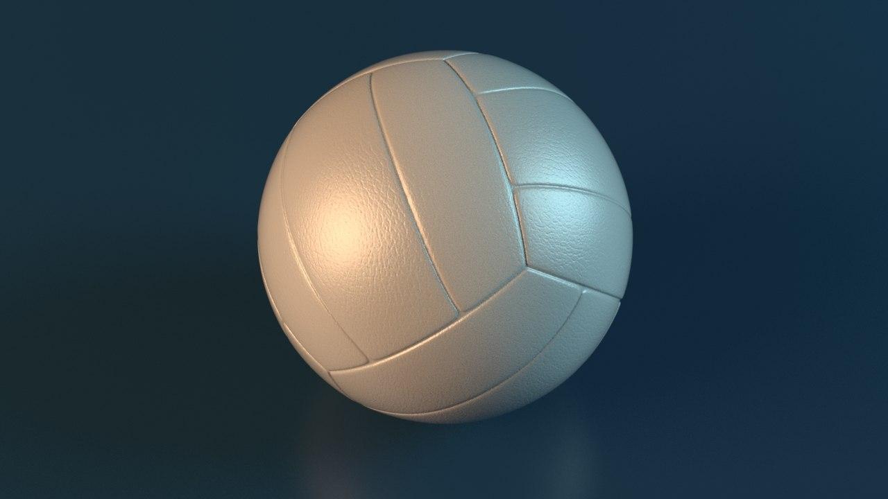maya volleyball rig ball