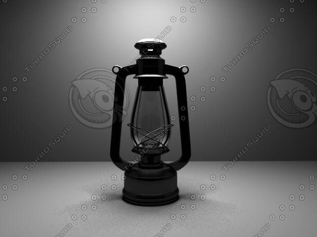 old lamp 3d ma