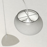 3d calligaris cygnus floor lamp