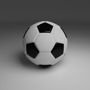 football foot ball 3d model