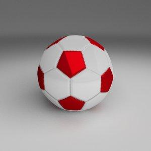 obj football foot ball