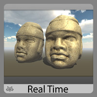 Olmec Head - Cabeza Olmeca (TR)