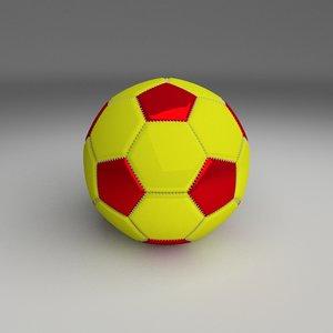 3d football foot ball model