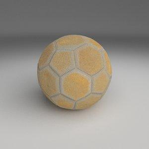 3d model used football