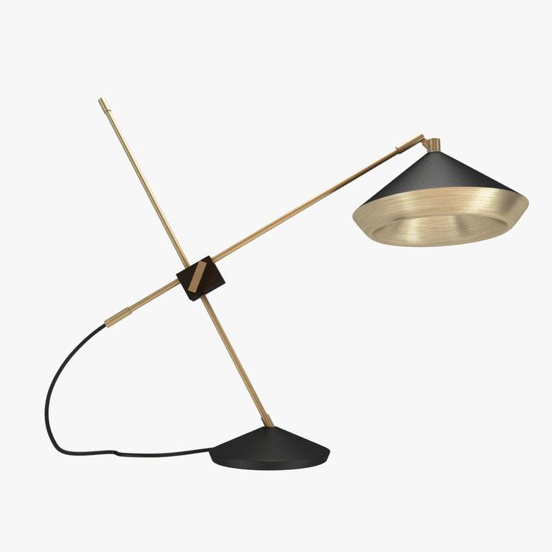 max lamp shear table