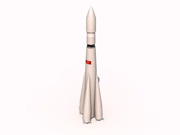3dsmax vostok rockets