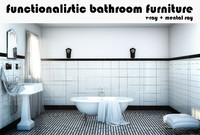 Functionalistic Bathroom Set