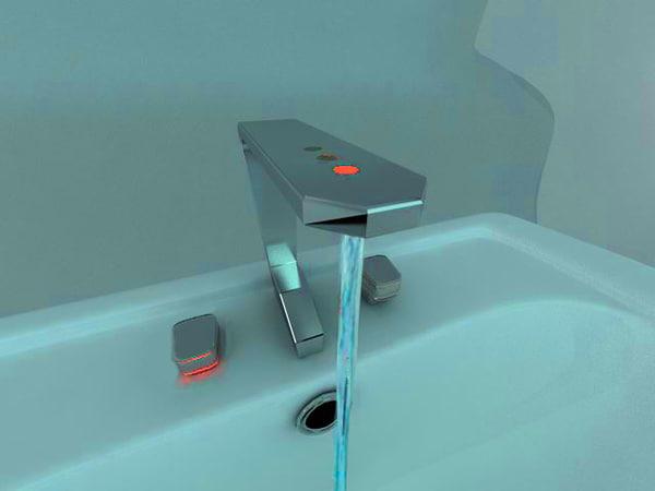 3d max modern water faucet