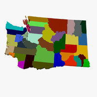 County Map - Washington