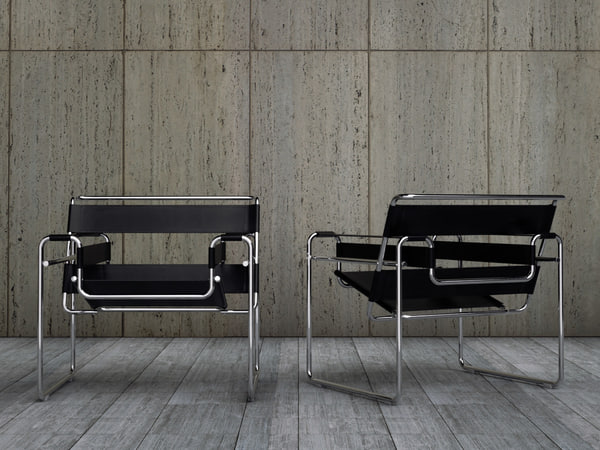 wassily chair 3d model