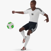 Soccer Player Black