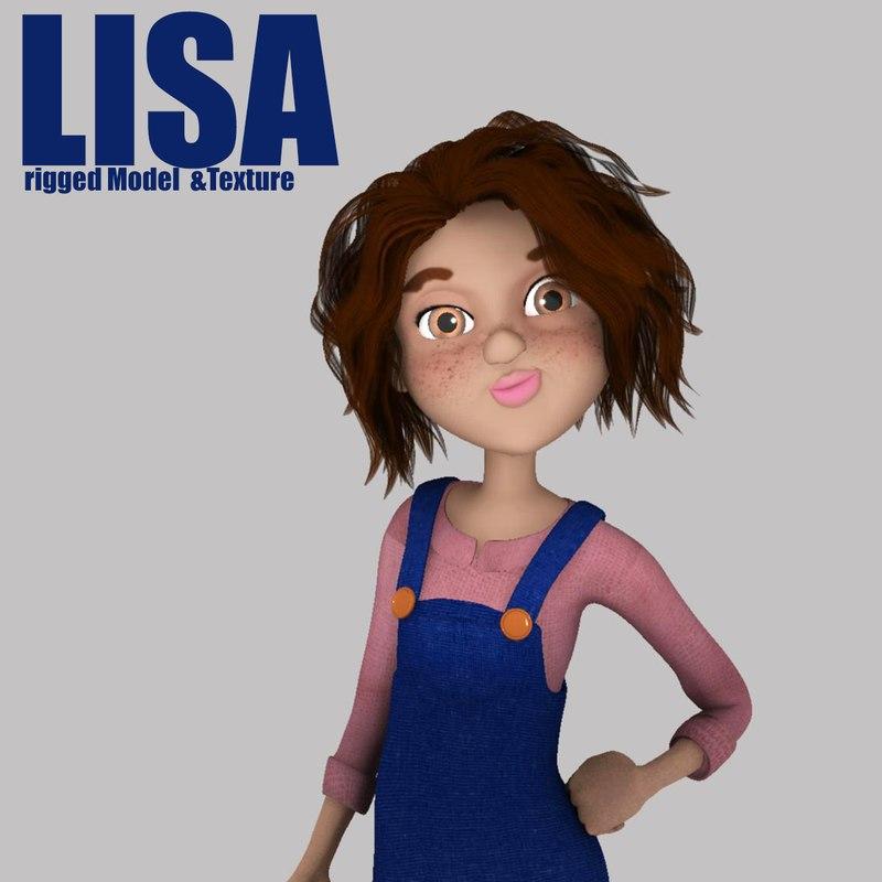 maya character girl