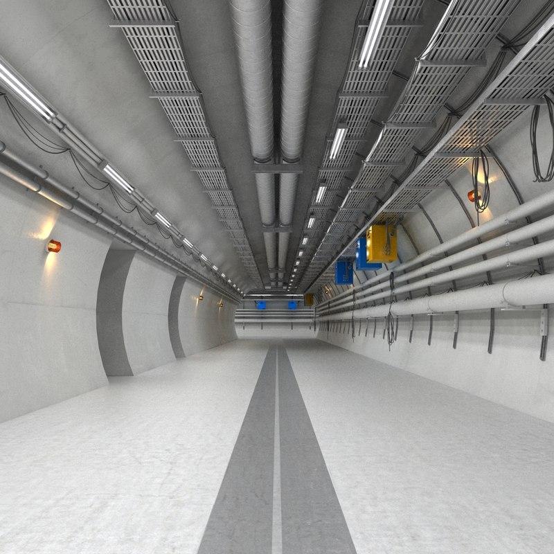 industrial hallway