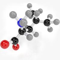 max leucine molecule
