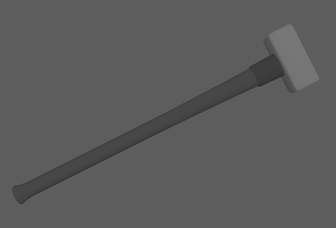 3ds max square-headed sledgehammer