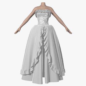 wedding dress 005 female shoes max