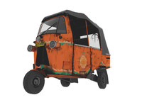 3d noisy bajaj indonesia model