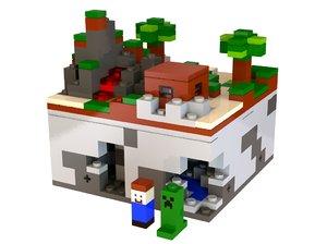 obj minecraft micro world