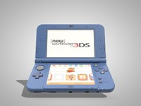 new nintendo xl ll 3d model