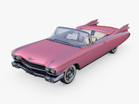 cadillac eldorado 62 series 3d model