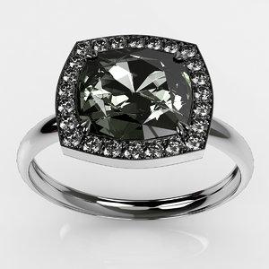 3d max diamond ring