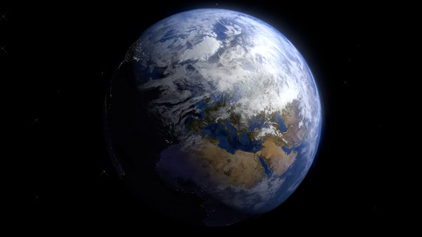 photorealistic earth 3d 3ds