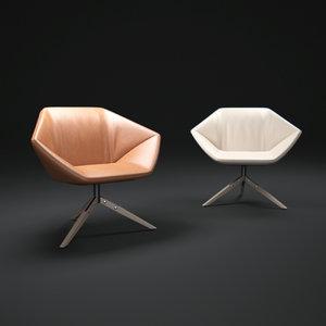 ella-chair 3d model