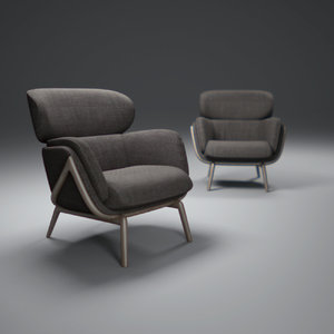 3ds max elysia-chair