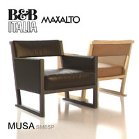 b italia musa armchair obj