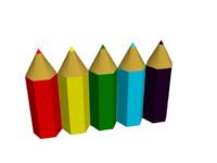 Simple Color Pencil 3D