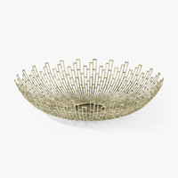 3d crate barrel starburst bowl