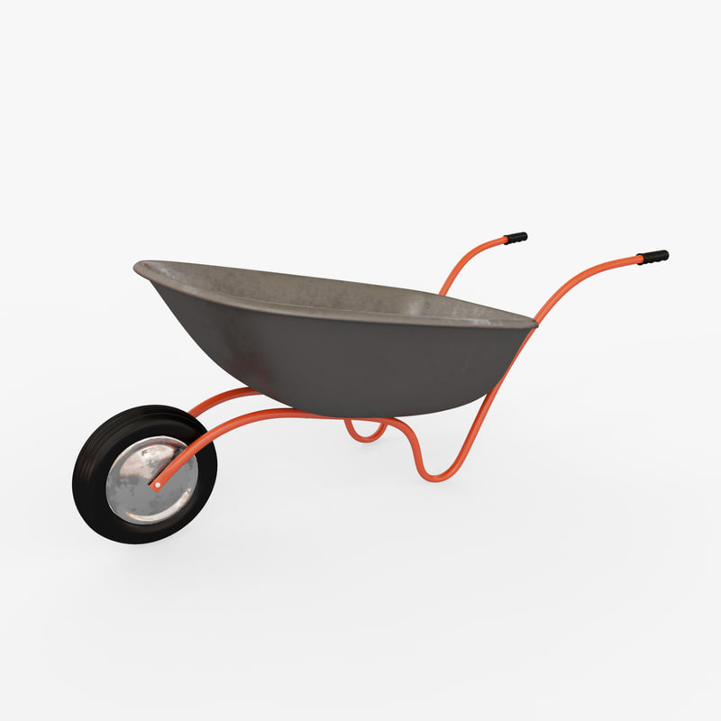 3d wheelbarrow arnold