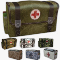 3d army medical kit model