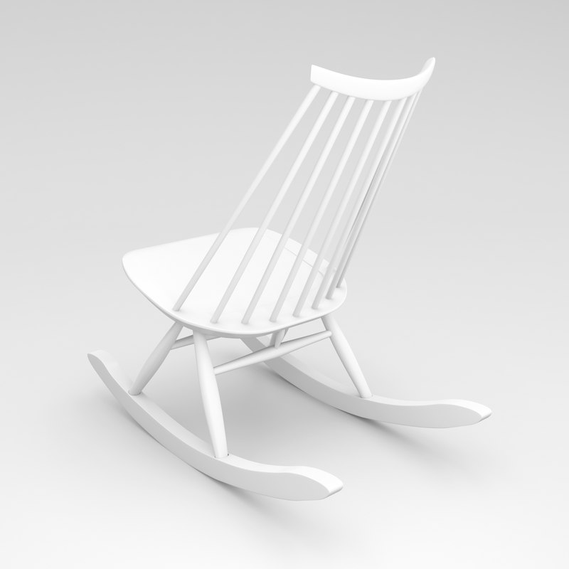 3d mademoiselle rocking chair ilmari