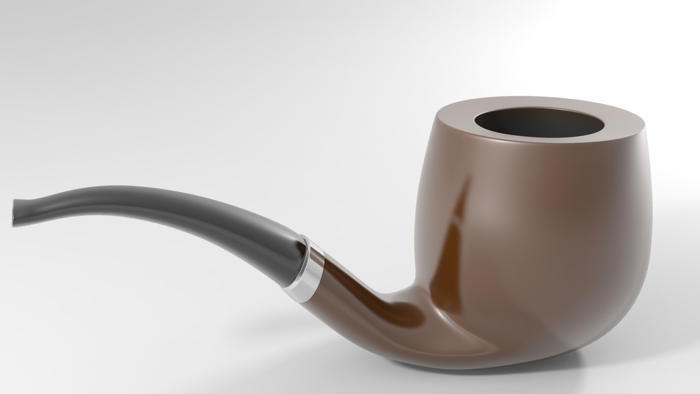 3ds max smoking pipe