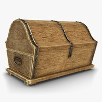 treasure chest 2 3d model