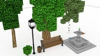 Minecraft Park Models