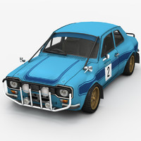 3ds max race car